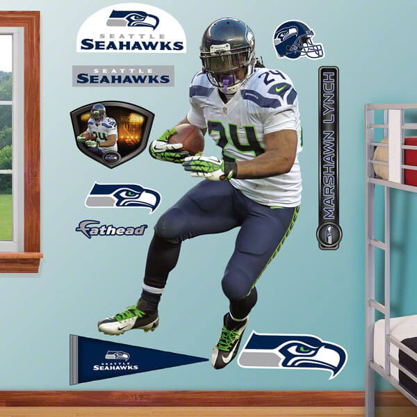 Seattle Seahawks Fathead Wall Art - Graphics - Murals