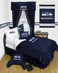 Seattle Seahawks Bedroom Sets and Gear