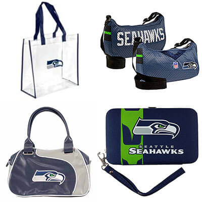 Seattle Seahawks Game Day Bags - Purses - Totes - Backpacks