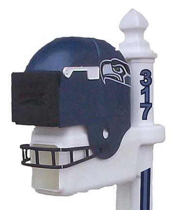 Seattle Seahawks Helmet Style Mailbox