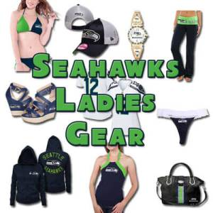 Seattle Seahawks Cute and Flirty Clothes for Lady 12's