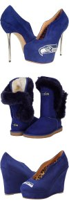 Seattle Seahawks Shoes - Boots - Sandals