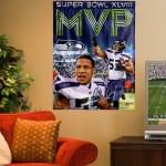 Malcolm Smith – Seattle Seahawks Super Bowl XLVIII MVP – Fan Gear and Memorabilia