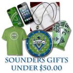 Seattle Sounders FC Gift Guide – Under $50.00