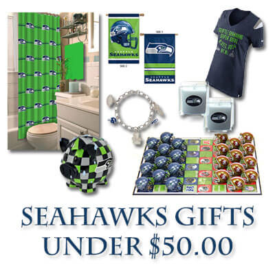 Seattle Seahawks Gift Guide - Under $50.00