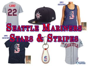 Seattle Mariners Stars & Stripes