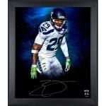 Autographed Seattle Seahawks Earl Thomas Focus Photo