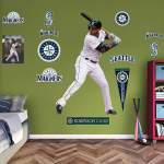 Seattle Mariners Robinson Cano 2014 Fathead Wall Graphic