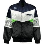 Seattle Seahawks G-III Sports by Carl Banks Shout-Out Satin Jacket