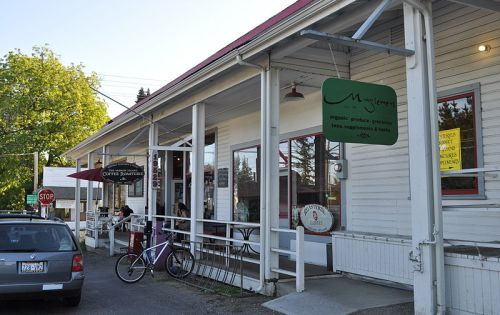 Storefronts on Vashon Island