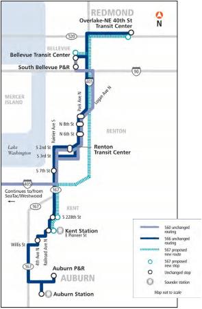 I-405 Corridor Restructure Proposal