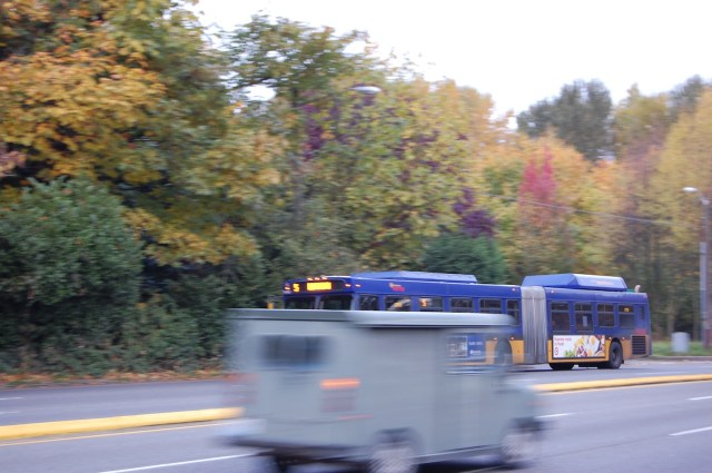King County Metro 5 on Aurora