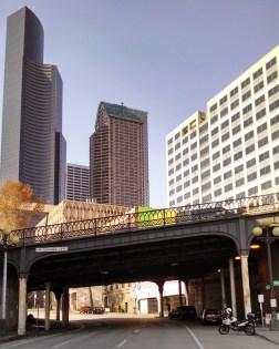 Yesler Way over 4th Ave Bridge