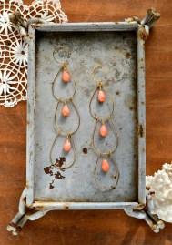 Foamy Wader coral earrings (1)
