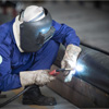 Arc Welding on metal structure
