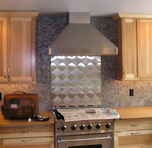 Range Hood custom designed for kitchen