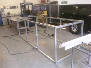 Assembled Steel Frame