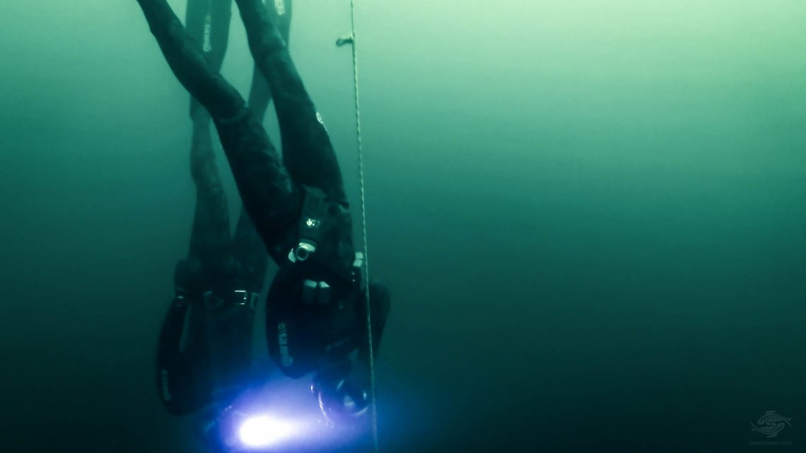 Free-Diving New England