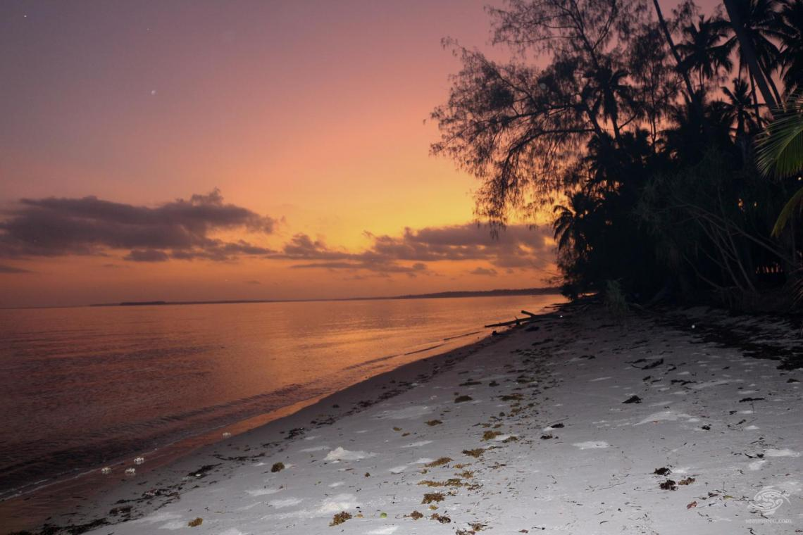 Sunrise at Ras Mbizi Mafia Island