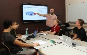 Siniawski Grant 2 300x192 - Grant explores a different way to measure student progress