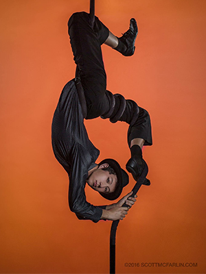 Fosse 1 - An Acrobatic Feat: Engineering Student Combines  His Passions for Circus Arts and Science