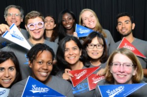 CSS at BBQ photo booth 300x198 - About Seaver News