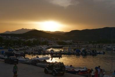 Sunset in Nea Iraklitsa