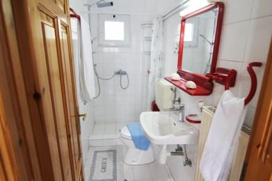 Ванная комната на 2м этаже, Вилла Релакс, о-в Тасос