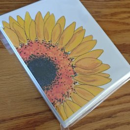 Native Bloom card set in cello wrapper