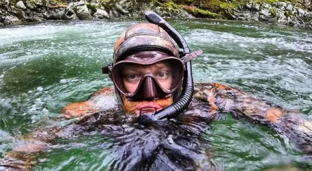 Observations of a river snorkeler