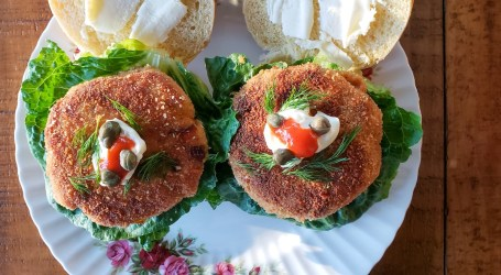 Fish Cakes and Buns