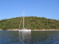 Dugi Otok - Brbinj - Seawitch au mouillage