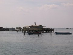 Pelestrina - Cabane de pêcheurs