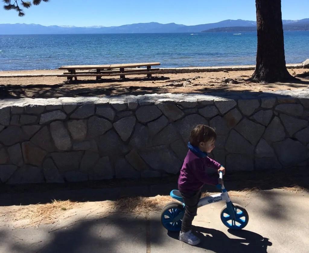 kings beach north lac tahoe californie nevada