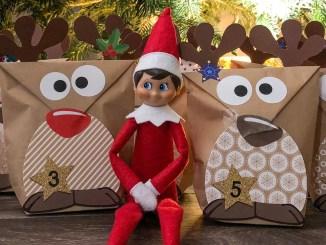 Elf on the Shelf, le petit elfe de Noël américain et mon calendrier de l'avent