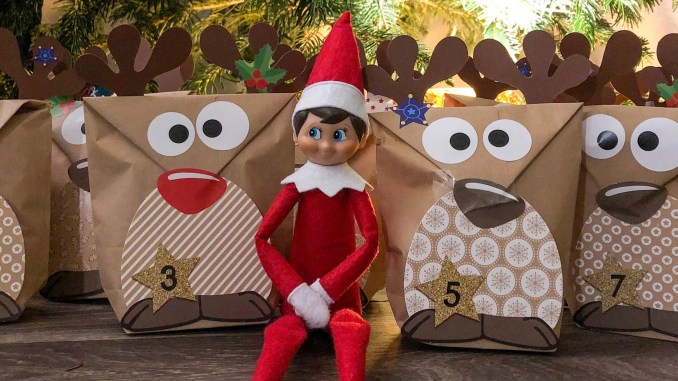 Elf on the Shelf, le petit elfe de Noël américain et mon calendrier de l'avent - img_5422