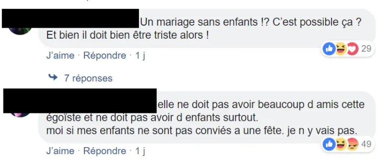 commentaire mariage