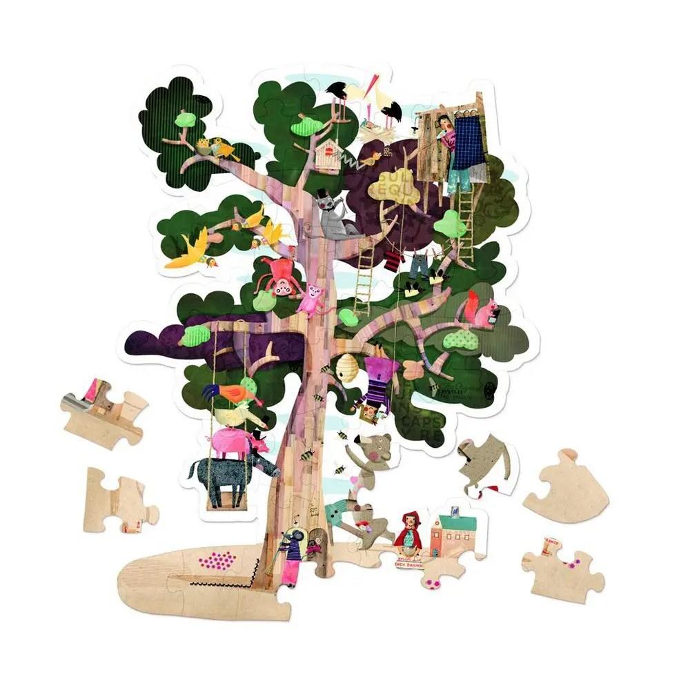 Puzzle en forme d'arbre signé Londji