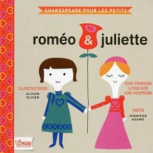 Roméo et Juliette pour les petits, couverture du livre
