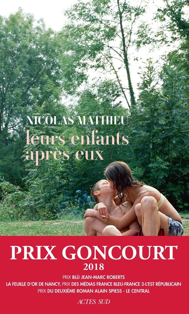 Livre Leurs enfants après eux de Nicolas Mathieu