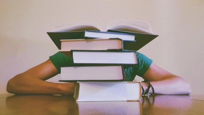 - adult blur books close up