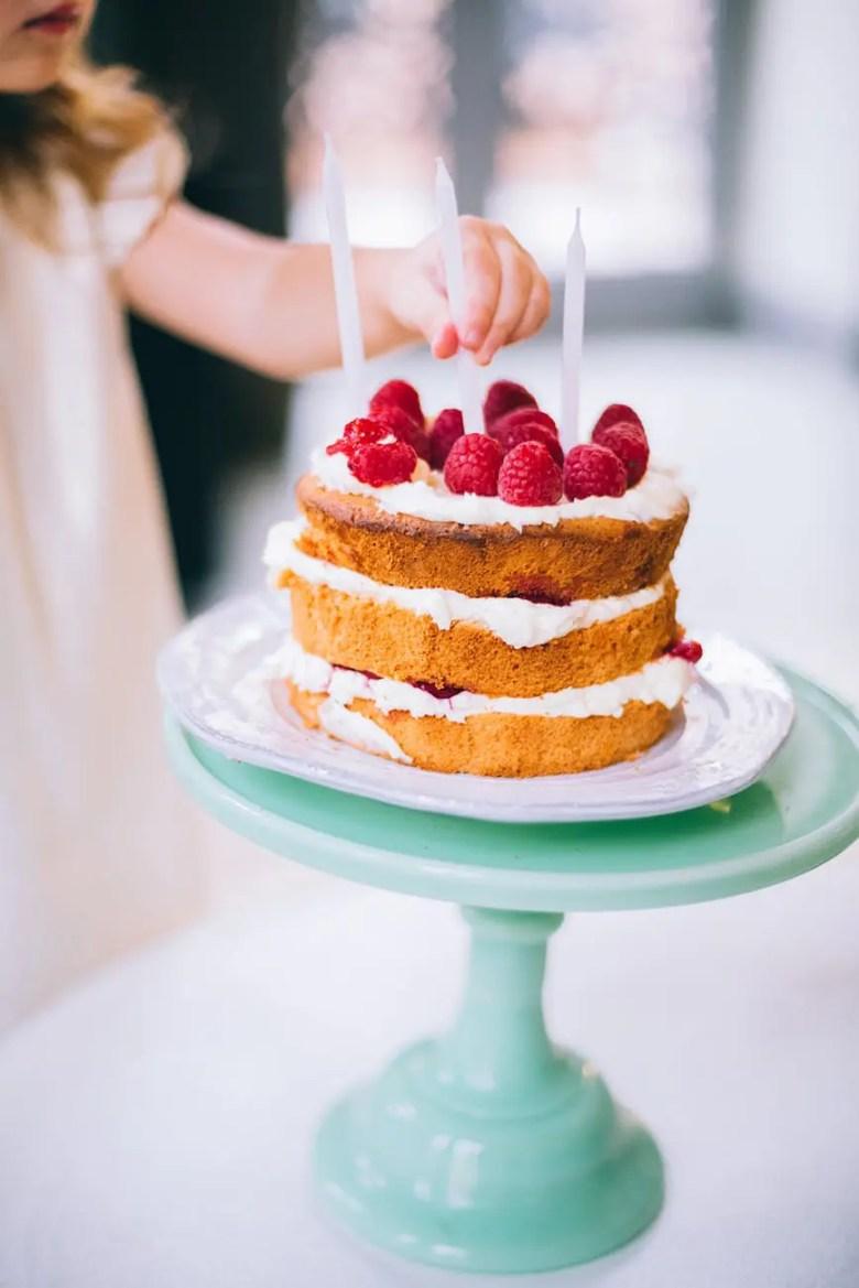 gâteau anniversaire enfant trois ans