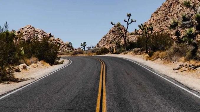 route californie - sky
