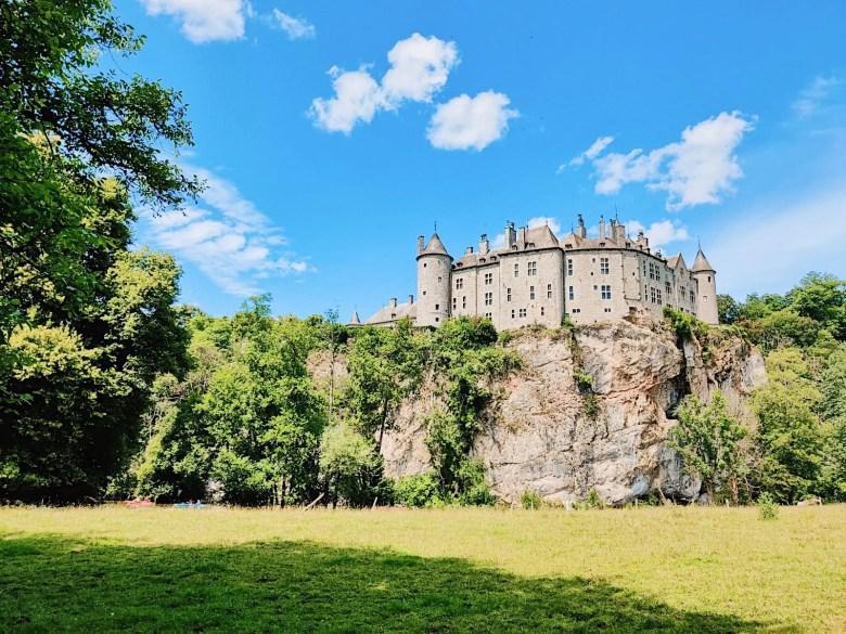 château de walzin belgique
