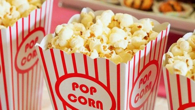 pop corn cinema drive in