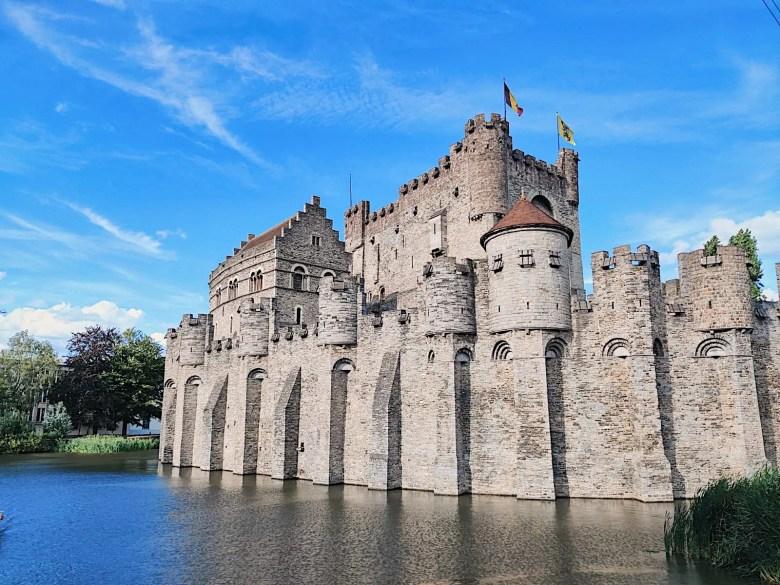 château des comtes visiter gand en famille