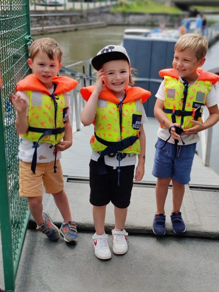 louer un bateau à gand en famille