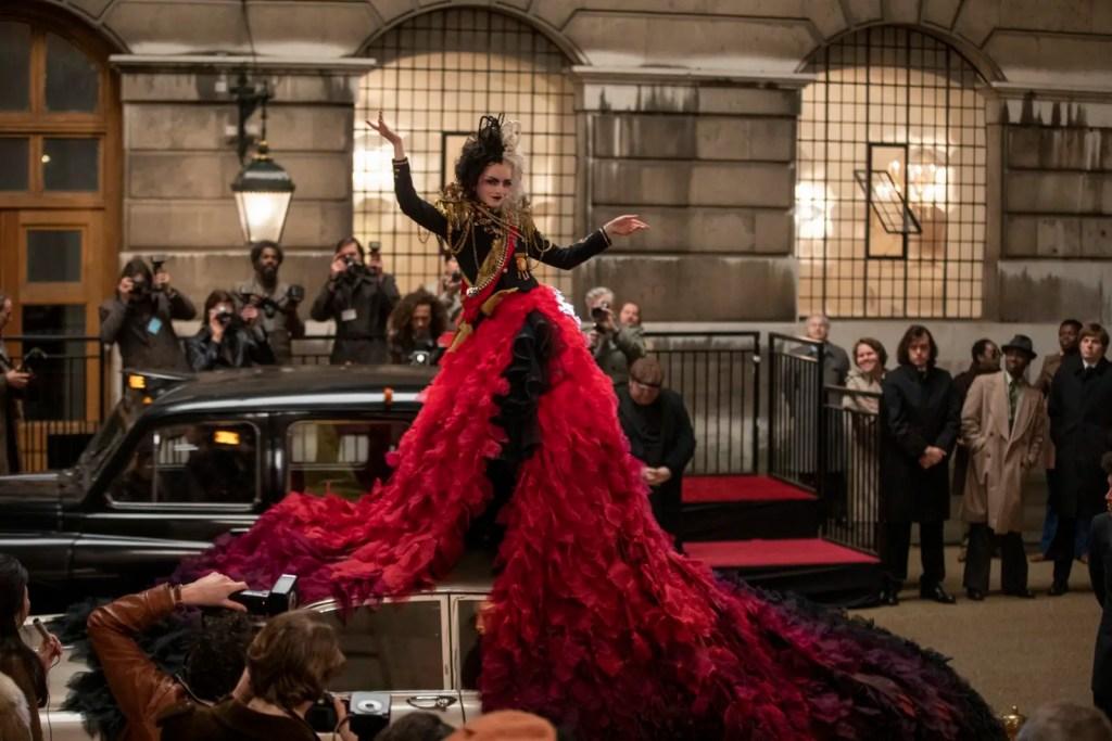 Emma Stone en Cruella dans le dernier film en live action de Disney