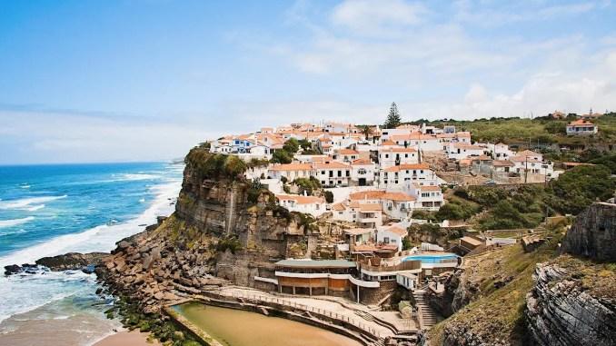 azenhas do mar au portugal - azenhas do mar portugal