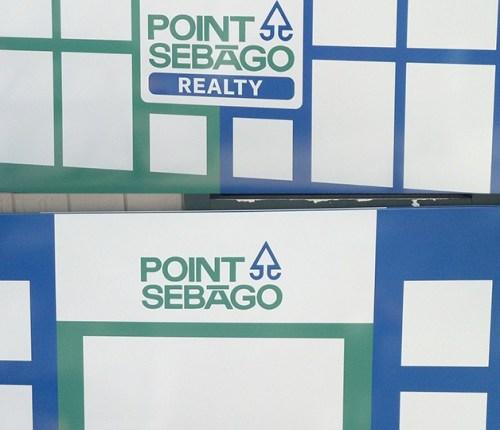 Sebago Signworks reality sign
